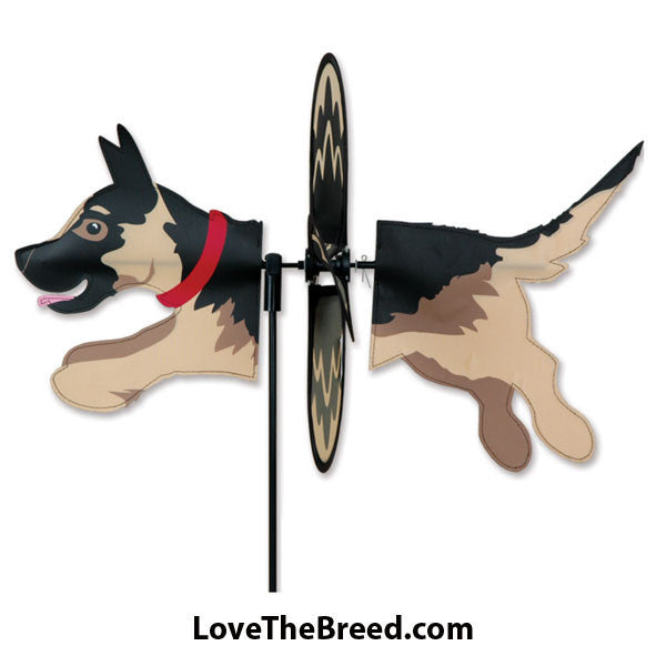 German Shepherd Dog Petite Wind Spinner