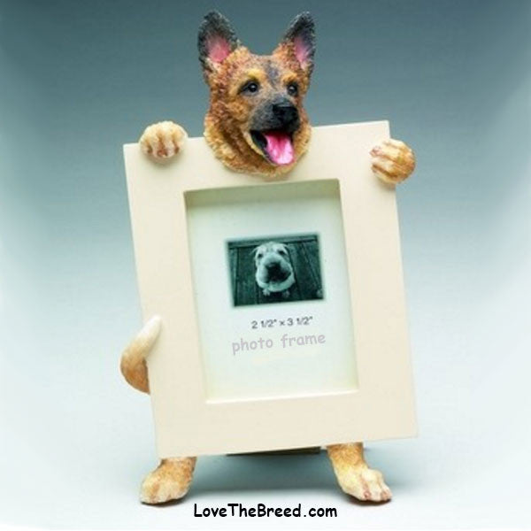 German Shepherd Photo Frame