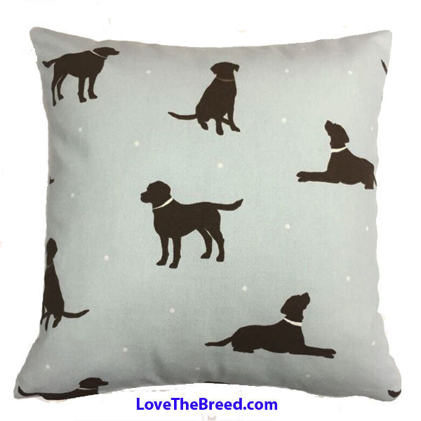 Labrador Retriever Print Pillows