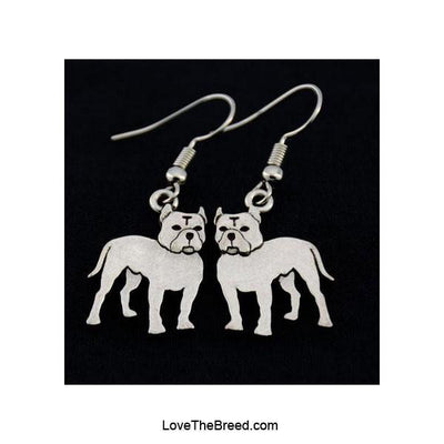 Pitt Bull Charm Earrings