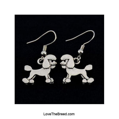 Poodle Charm Earrings