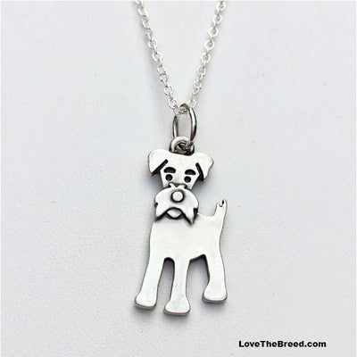 Schnauzer Charm Necklace