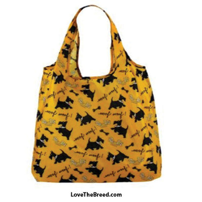 Scottish Terrier Foldable Tote Bag