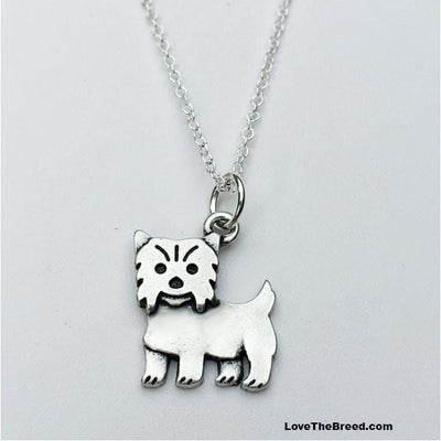 Yorkshire Terrier Charm Necklace