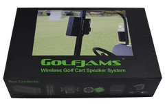 Golfjams Speaker Box Golfljams bluetooth golf cart speaker system
