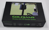 Golfjams bluetooth complete speaker system golf