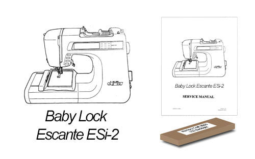 Baby lock esante esi-2 lcd backlight replacement kit.