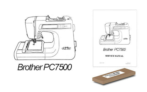 Brother PC7500 LCD Back Light Replacement Kit