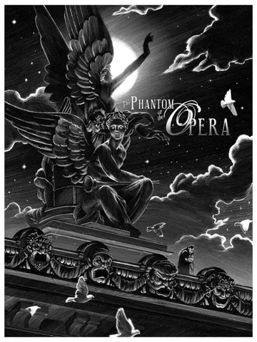 """The Phantom of the Opera"" - Canvas Standard Edition"