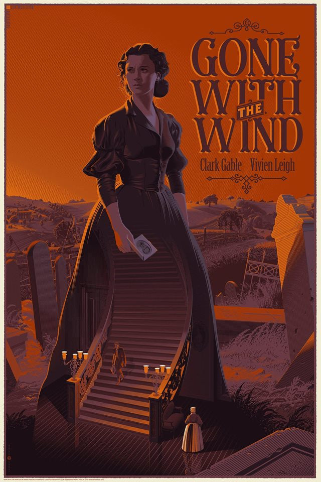 "LAURENT DURIEUX ""GONE WITH THE WIND"" STANDARD Edition of 345"