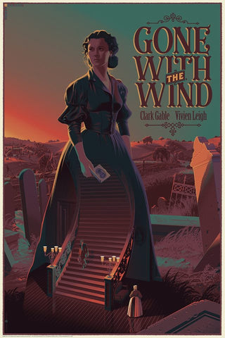 "LAURENT DURIEUX ""GONE WITH THE WIND"" VARIANT Edition of 145"