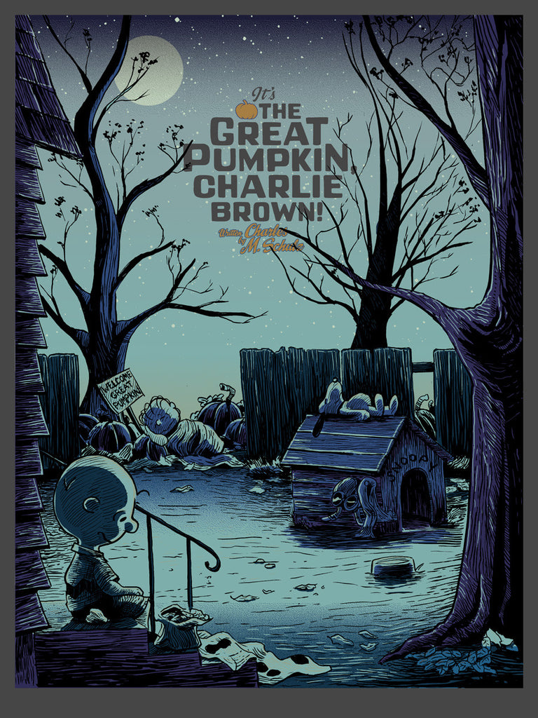 It's the Great Pumpkin Charlie Brown - Tim Doyle & Ridge Rooms GID Edition