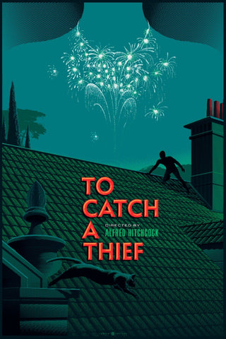 """To Catch a Thief"" - Canvas Variant Edition"