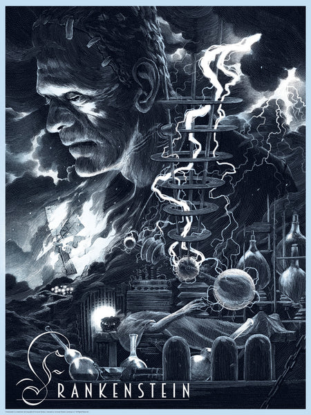 """Universal Classic Monsters"" 7-print Select Foil Variant edition"