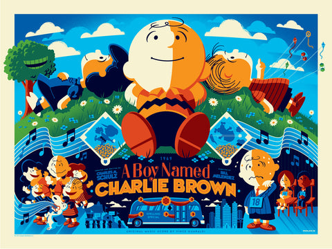 A Boy Named Charlie Brown (Variant)