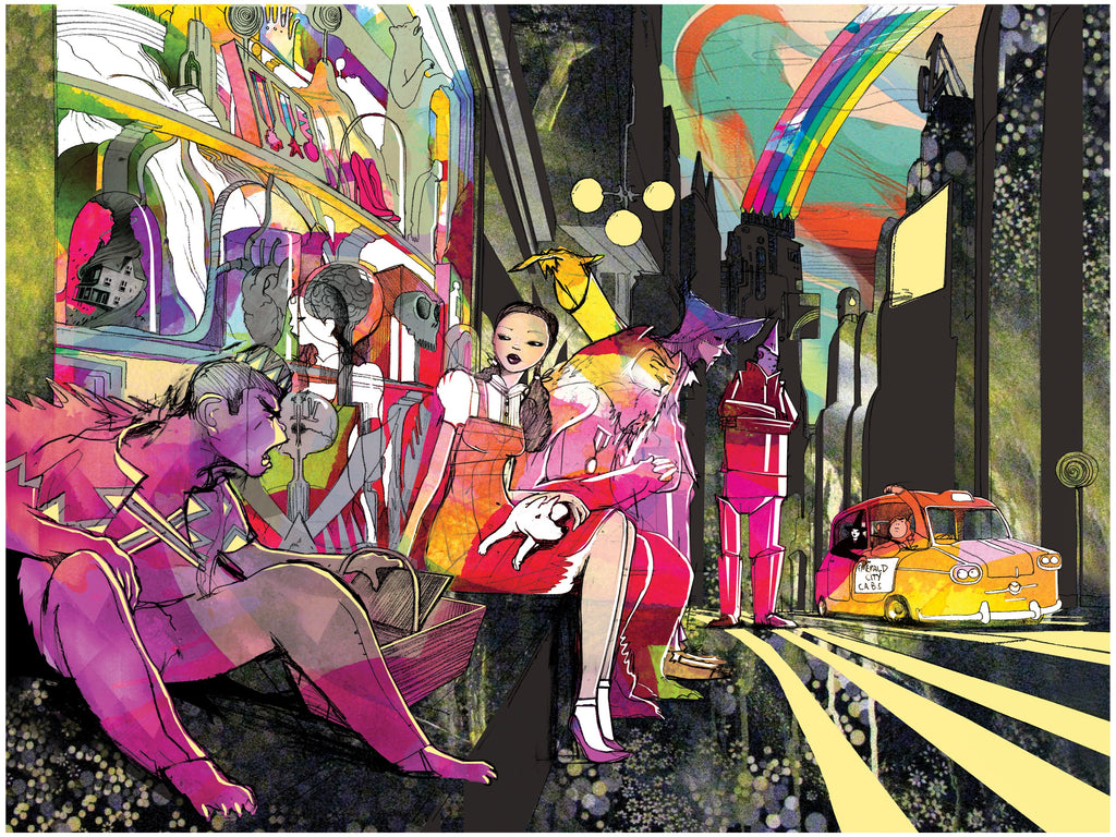"""Oz Street"" ARTIST: WILL BARRAS VARIANT EDITION OF 50 $65"