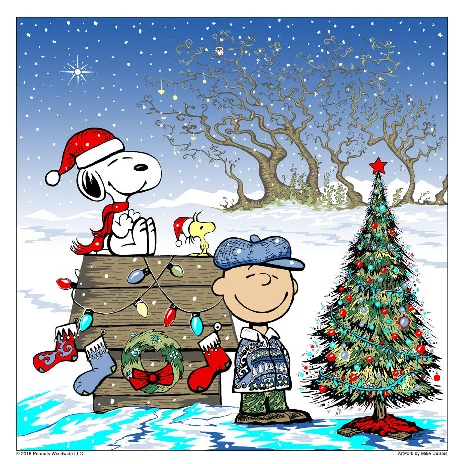 """MERRY CHRISTMAS, CHARLIE BROWN"" Standard edition of 195"