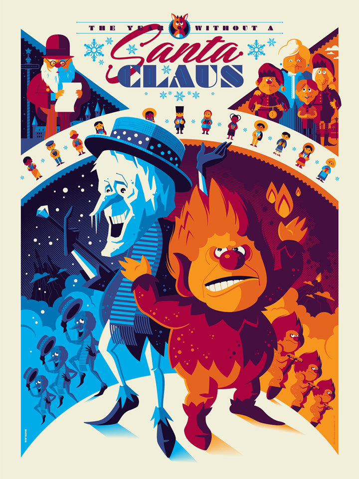"TOM WHALEN ""THE YEAR WITHOUT A SANTA CLAUS"" STANDARD Edition of 280"