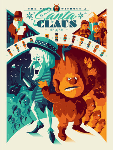 "TOM WHALEN ""THE YEAR WITHOUT A SANTA CLAUS"" VARIANT Edition of 50"