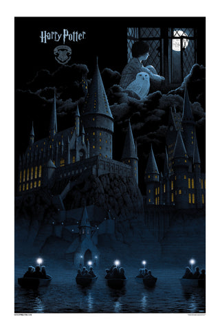 """Harry Potter and the Sorcerer's Stone"" - Select Foil Edition (based on Standard Blue)"