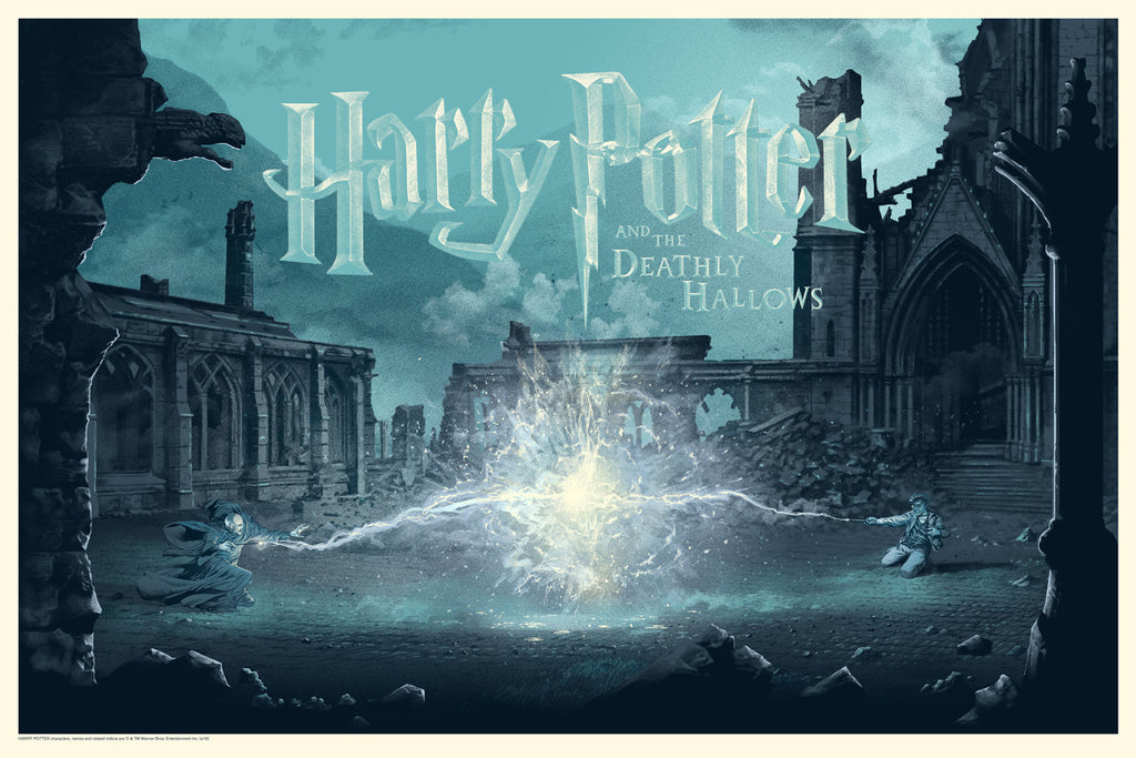"STAN & VINCE ""HARRY POTTER AND THE DEATHLY HALLOWS"" Variant edition of 70"