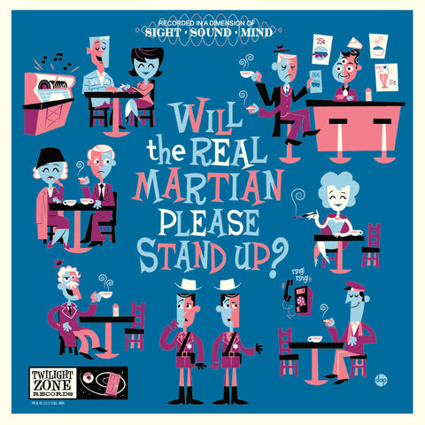 Will the Real Martian Please Stand Up - Variant Edition