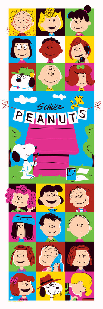 "DAVE PERILLO ""PEANUTS: THROUGH THE YEARS"" VARIANT Edition of 50"