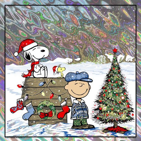 """MERRY CHRISTMAS, CHARLIE BROWN"" LAVA-Standard edition of 45"