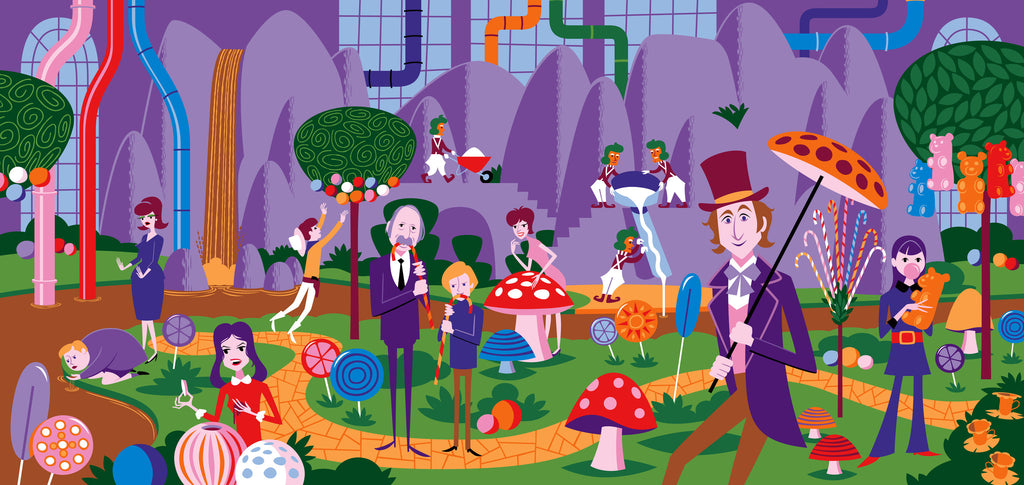 """Willy Wonka & the Chocolate Factory"" Variant Edition"