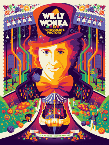 "TOM WHALEN ""WILLY WONKA & THE CHOCOLATE FACTORY"" STANDARD Edition of 280"
