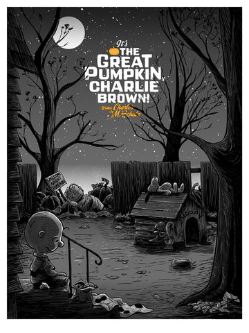 It's the Great Pumpkin Charlie Brown - Tim Doyle & Ridge Rooms Variant Edition