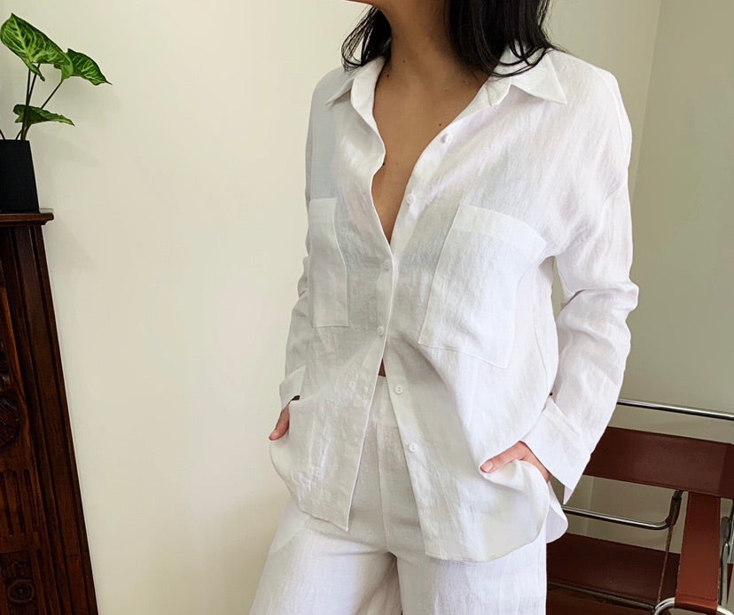 Summertime Shirt - White