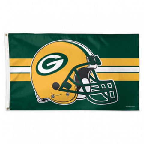 Green Bay Packers Flag - Deluxe 3' X 5' - Hawkins Footwear and Sports  - 1