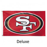 San Francisco 49ers Flag - Team 3' X 5' - Hawkins Footwear and Sports  - 2