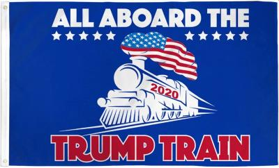Trump Train Poly 3'x5' Flag