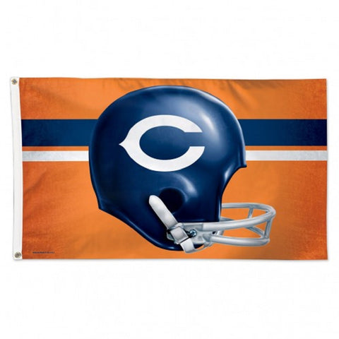 Chicago Bears / Classic Logo Flag - Deluxe 3' X 5' - Hawkins Footwear and Sports  - 1
