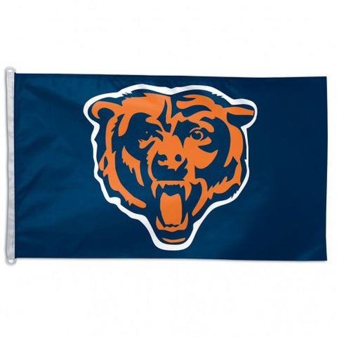 Chicago Bears Flag (Bear) - Team 3' X 5' - Hawkins Footwear and Sports  - 1