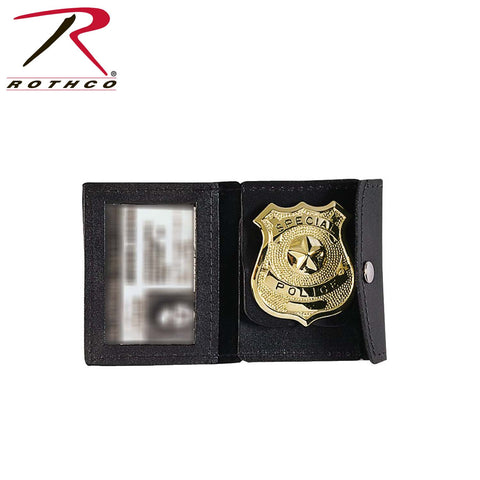 Leather Police ID/Badge Holder