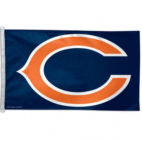 Chicago Bears Flag - Team 3' X 5' - Hawkins Footwear and Sports  - 1