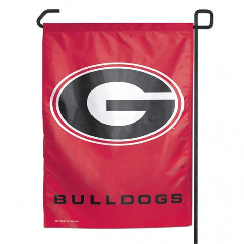 "Georgia Bulldog 11"" x 15"" Garden Flag - Hawkins Footwear and Sports  - 1"