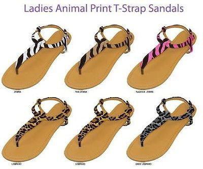 Chatties T-strap Sandals