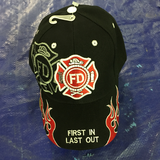 Fire Fighter 1st in Last out Cap