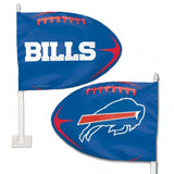 Buffalo Bills Shaped Car Flag - Hawkins Footwear and Sports  - 1