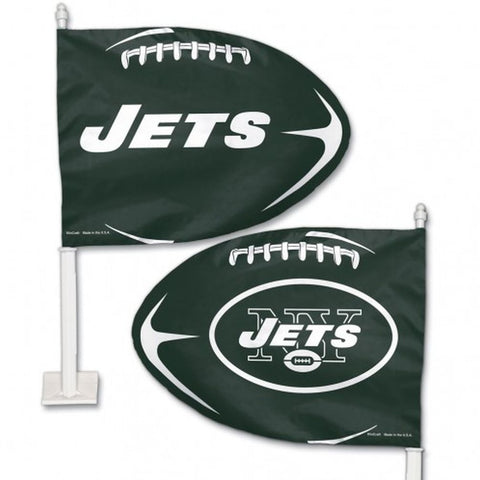 New York Jets Shaped Car Flag
