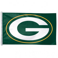 Green Bay Packers Flag - Team 3' X 5' - Hawkins Footwear and Sports  - 1