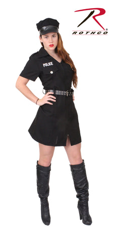 Rothco Women's Black Police Costume - Hawkins Footwear and Sports