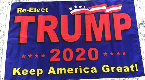 Re-Elect Trump Poly 3'x5' Flag