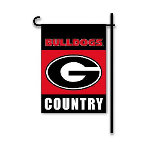 Georgia Bulldog Country Garden Flag