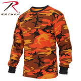 Rothco Long Sleeve Men Camo T-Shirt