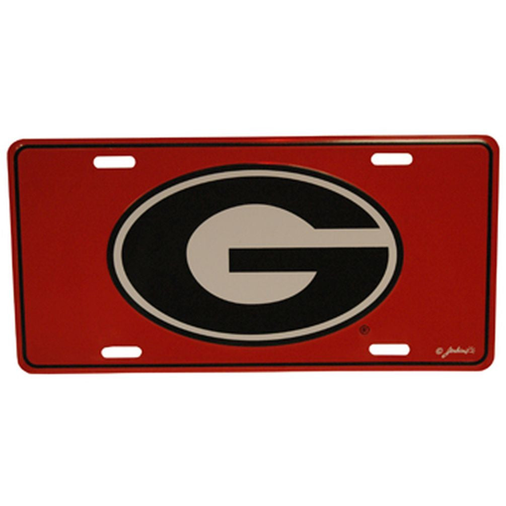 U-GA CAR TAG RED G - Hawkins Footwear and Sports  - 1